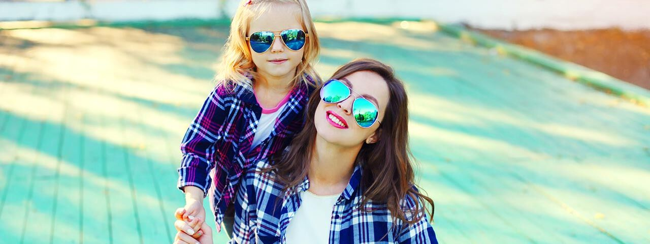 sunglasses woman child in Irving, Texas