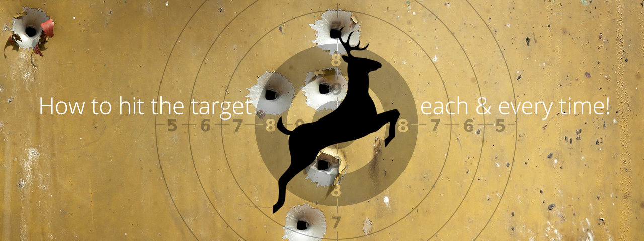 how to hit the target every time- for shooting glasses