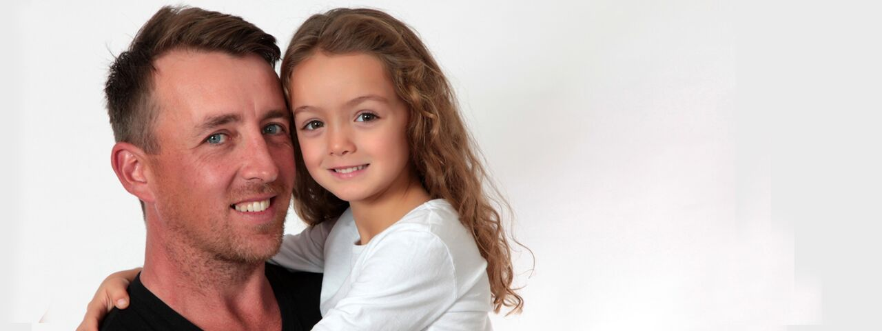 Dad and Daughter 1280x480