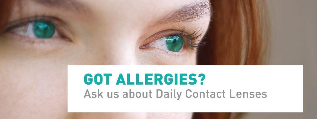 Dailies for Allergies Slide - Optometrist, Round Rock, TX