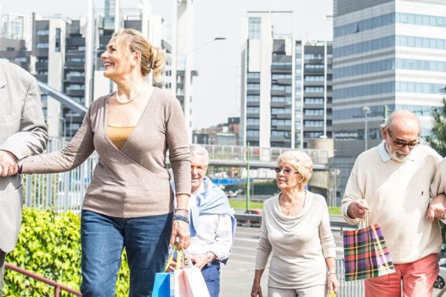 Group of Seniors Walking 1280×480