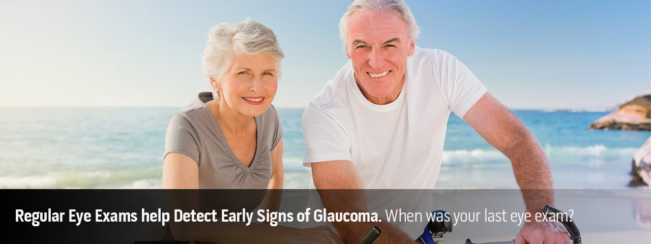 Senior Citizen Couple, Glaucoma Eye Exams