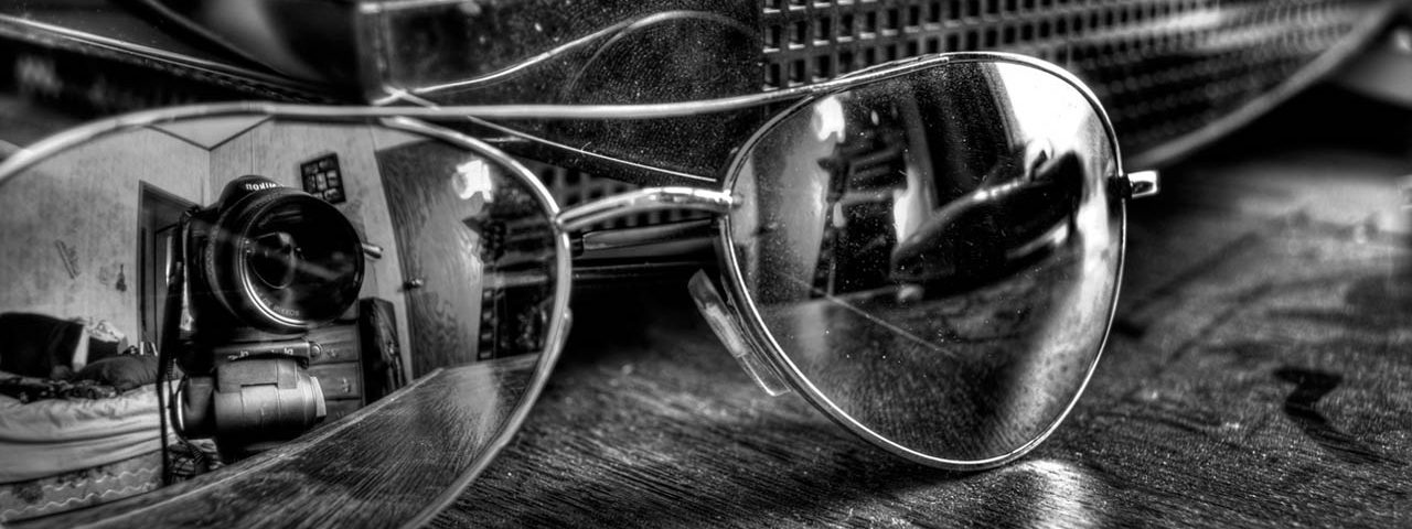 aviator sunglasses still life New York City