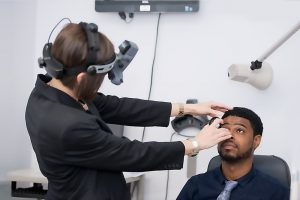 Eye exam, Medical exam by doctor in Brea, CA