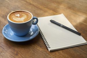 Coffee Mug and Notebook 1280×853