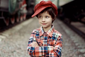 Cute Boy Red Cap 1280×853