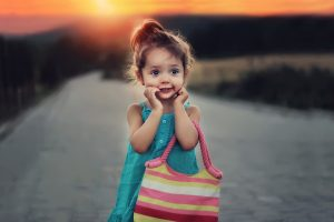 Female Child Sunset 1280×853