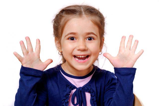 Girl Happy Surprised Long Island