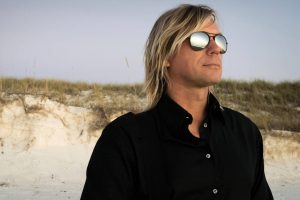 Man Blonde Sunglasses Beach