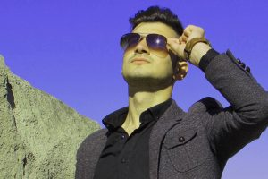 Man Sunglasses Blue Sky