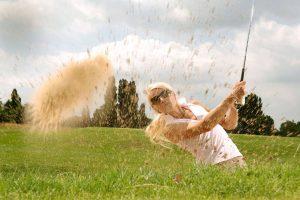 Sport golf sand sm