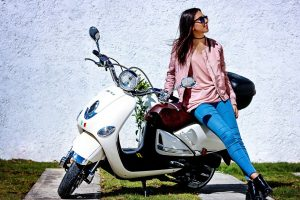 Woman Sunglasses Motorcycle 1280x853