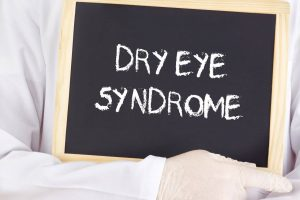 dry eye syndrome copy on blackboard - Optometrist - Oak Brook, IL