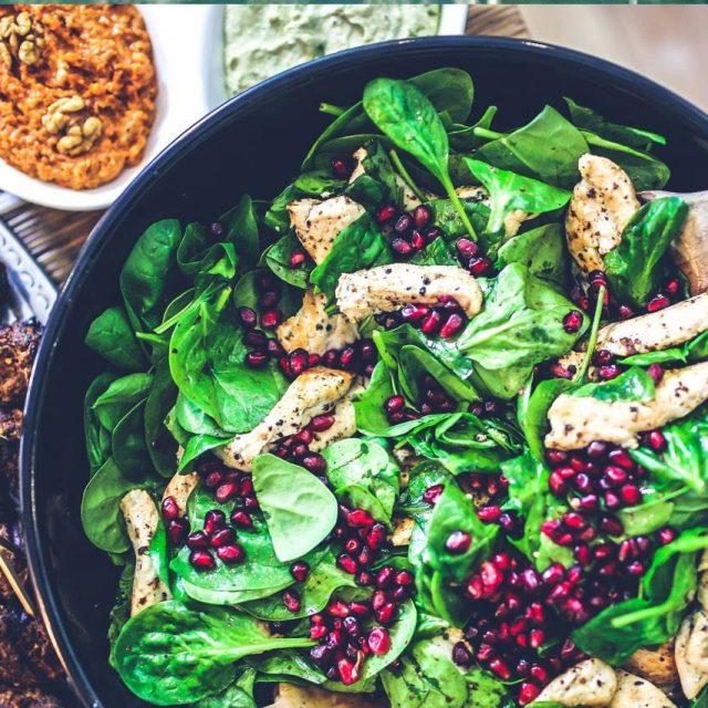food-nutrition-spinach-chicken-salad-640x640