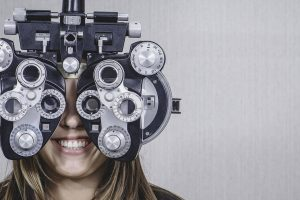 girl eye exam bkground med