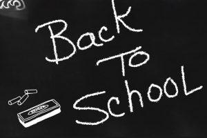 school copy on chalkboard