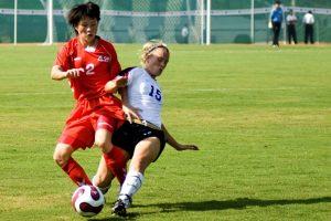 sports soccer females caucasian