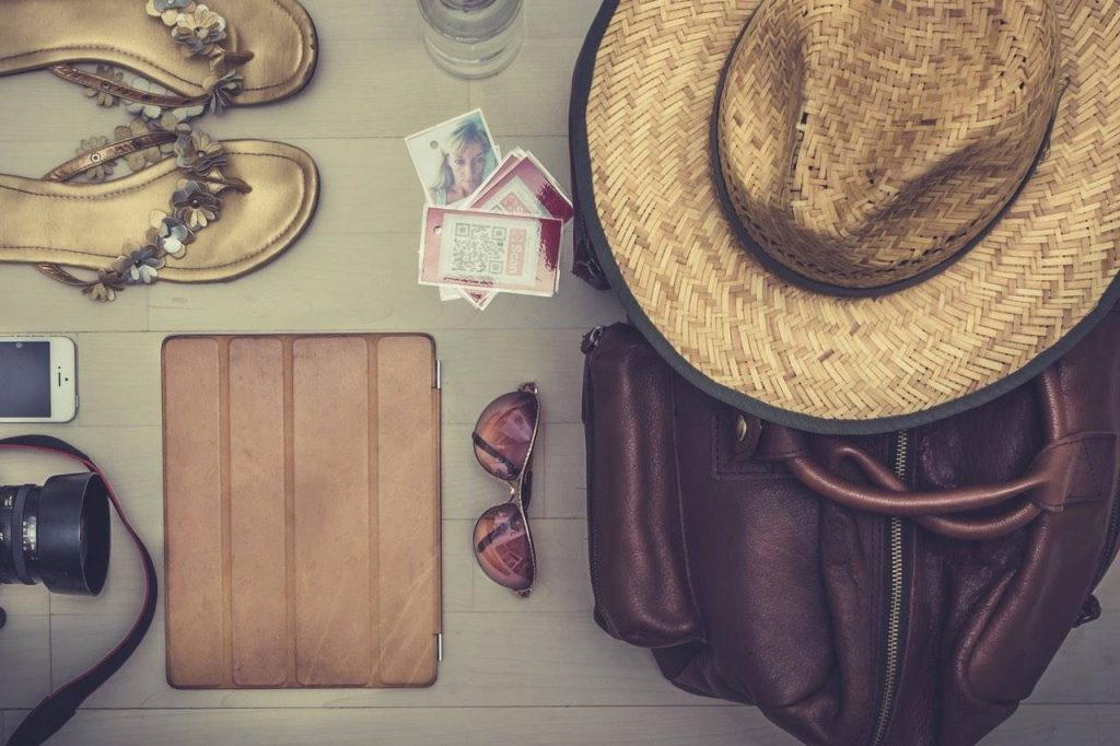 Items for Travelling, including Sunglasses