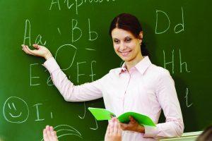 teacher background