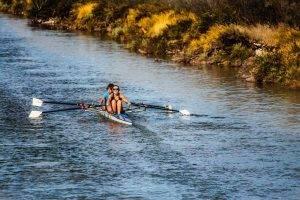Sport rowing kayak
