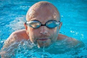 Sport swim goggles, optometrist, Burlington, NC
