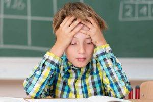 Optometrist, boy with learning problems in North Miami Beach, FL