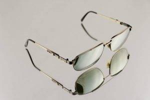 glasses frames reflection grey