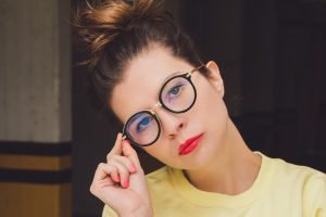 young woman glasses 1280x853