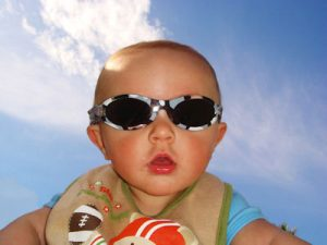 baby in shades Texarkana TX