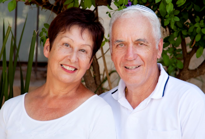 senior couple in white fort lauderdale fl