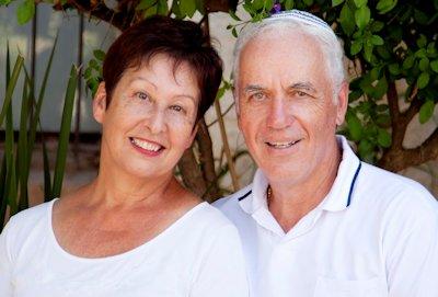senior couple in white olathe ks