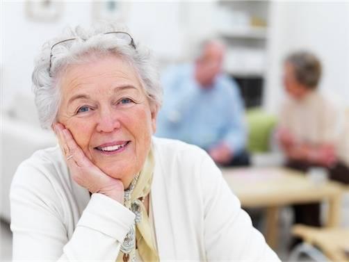 senior woman smiling fullerton ca