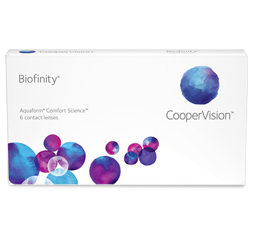 optometrist, CooperVision Biofinity contact lenses in Southampton, NY