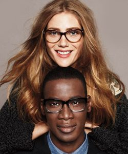 Cole Haan Ad with African American Man and Caucasian Woman