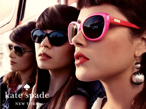 Ad for Kate Spade Eyeglass Frames