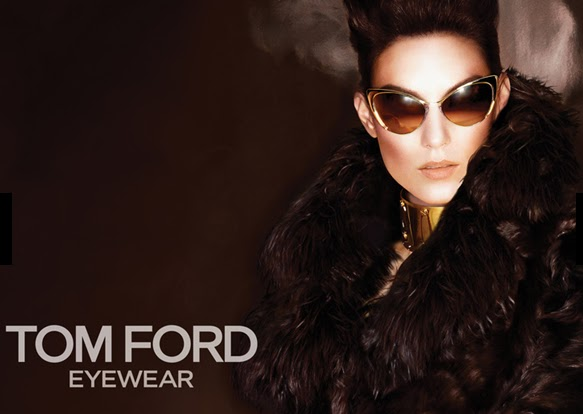 Ad for Tom Ford Eyeglass Frames