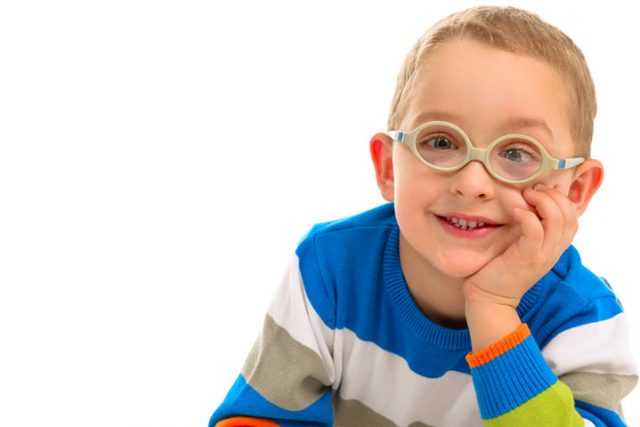 Cute smiling boy with glasses modesto ca