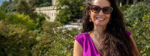 Woman Sunglasses Dark Hair 1280x480