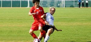 asian sports soccer females caucasian