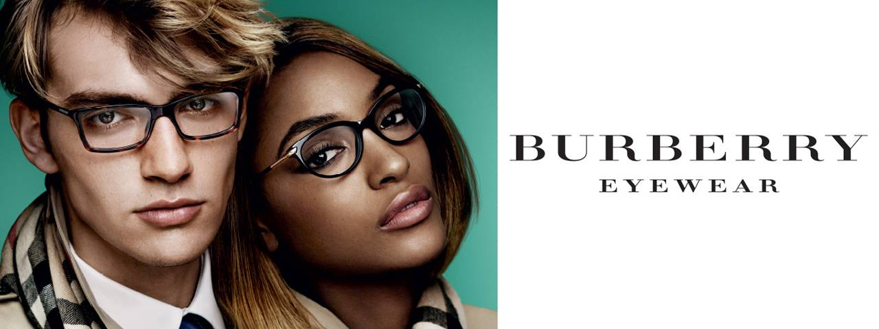 Burberry glasses slide