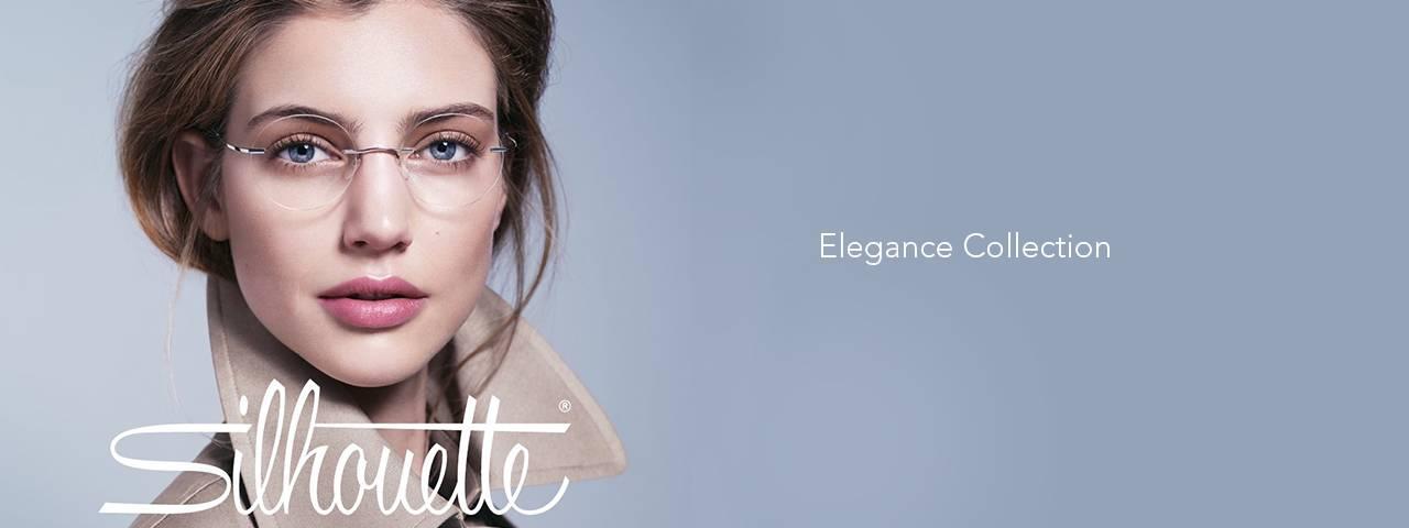 Ad for Silhouette brand eyeglasses