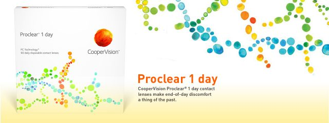 CooperVision Proclear 1 Day 1280x480