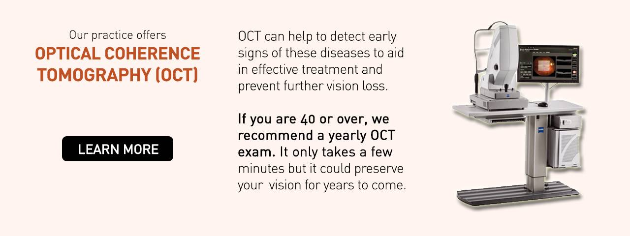 OCT eye care technology