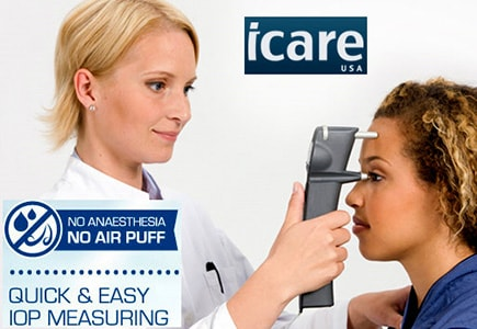 icare-tonometer - no air puff eye exam Zanesville, OH