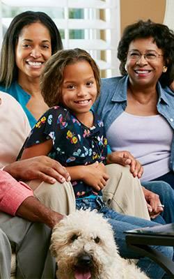 african american family - Eye Care - Eye Exam - Charlotte, NC