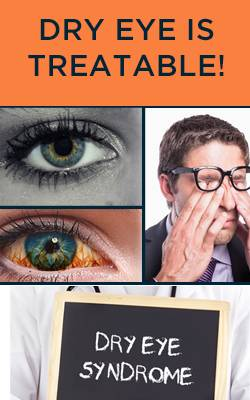 dry eye syndrome banner for ft myers optometrist