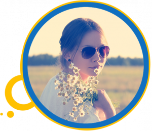 flowerchild sunglasses aviator
