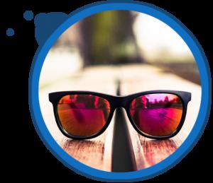sunglasses reflection v2