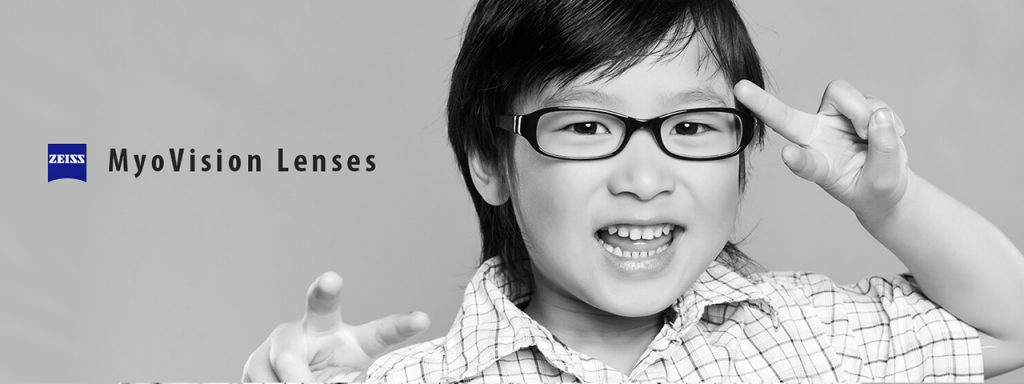 MyoVision Lenses by Zeiss, available from your pediatric optometrist in South Edmonton Alberta
