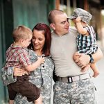 military parents with children in Fayetville, NC